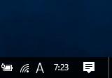 Windows 10 Anniversary Update で時計が消える 修正
