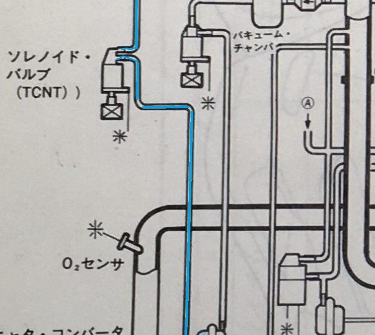 FD3S ツインターボにならない 不良個所の特定 2