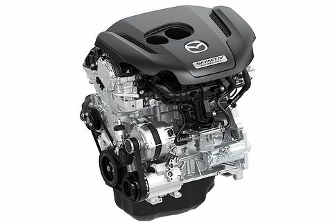 ターボエンジンSKYACTIV-G 2.5Tから。。REにEGR
