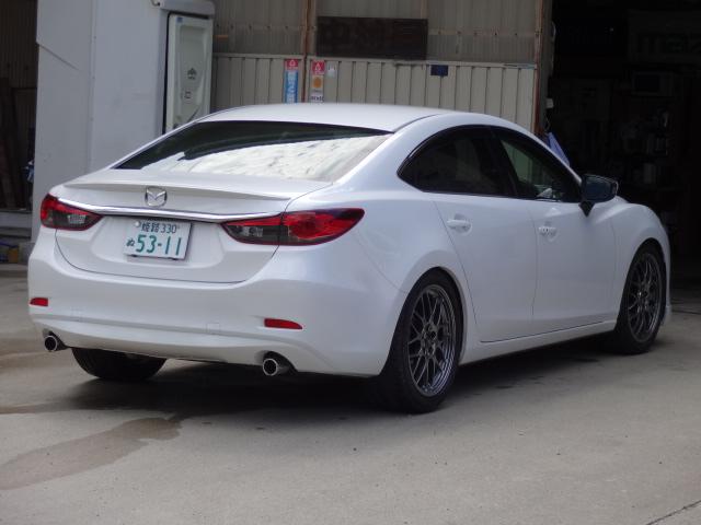 新型アテンザ ケツが黒い !?ATENZA takeri Mazda6
