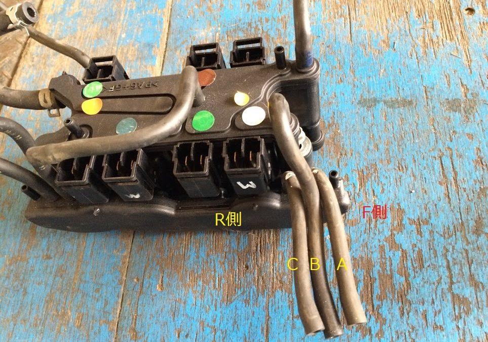 FD3Sバキュームホース配管の留意点