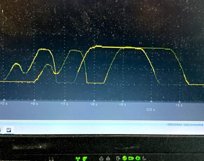 デジタルスロットルセンサーの特性比較
