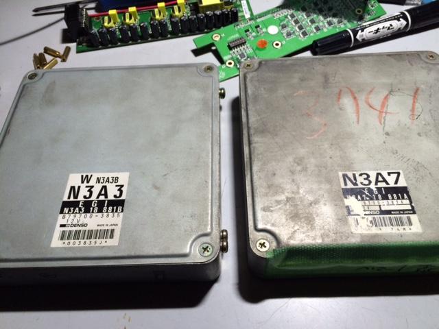 FD3S 北米仕様のCPUデーター2