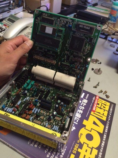 北米仕様のRX-7にEcoCpu をいれました!