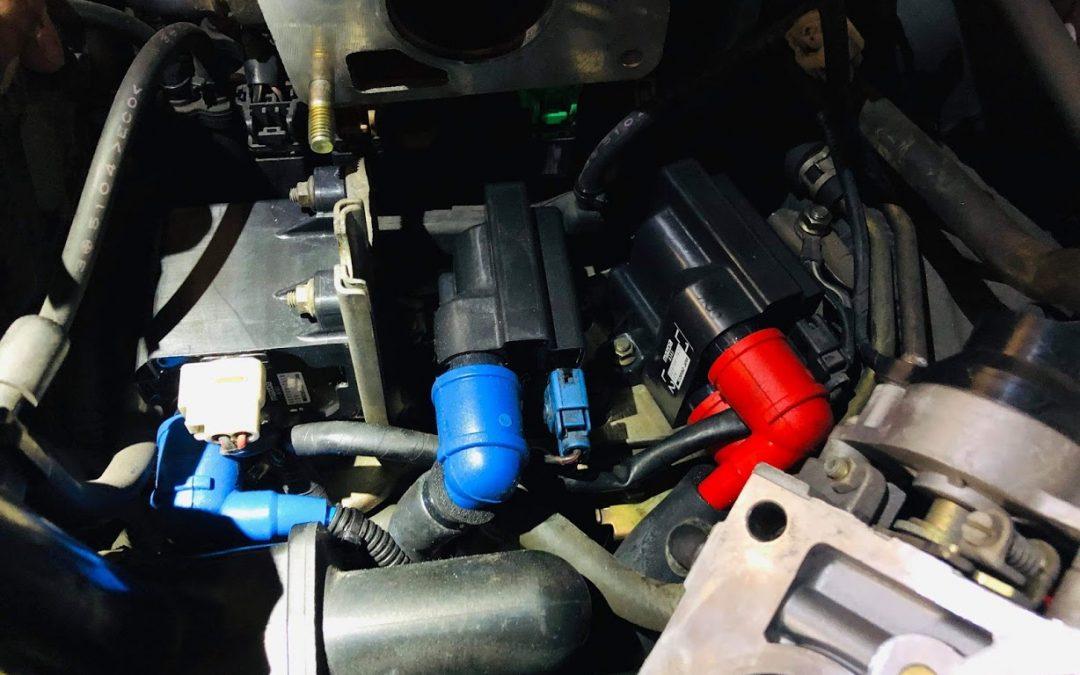 6型FD3S も古い車の部類、コイルの劣化の判定方法として