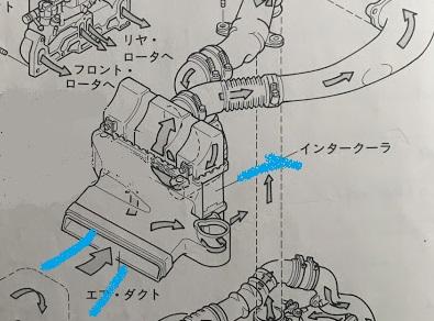 純正インタークーラーの話 8