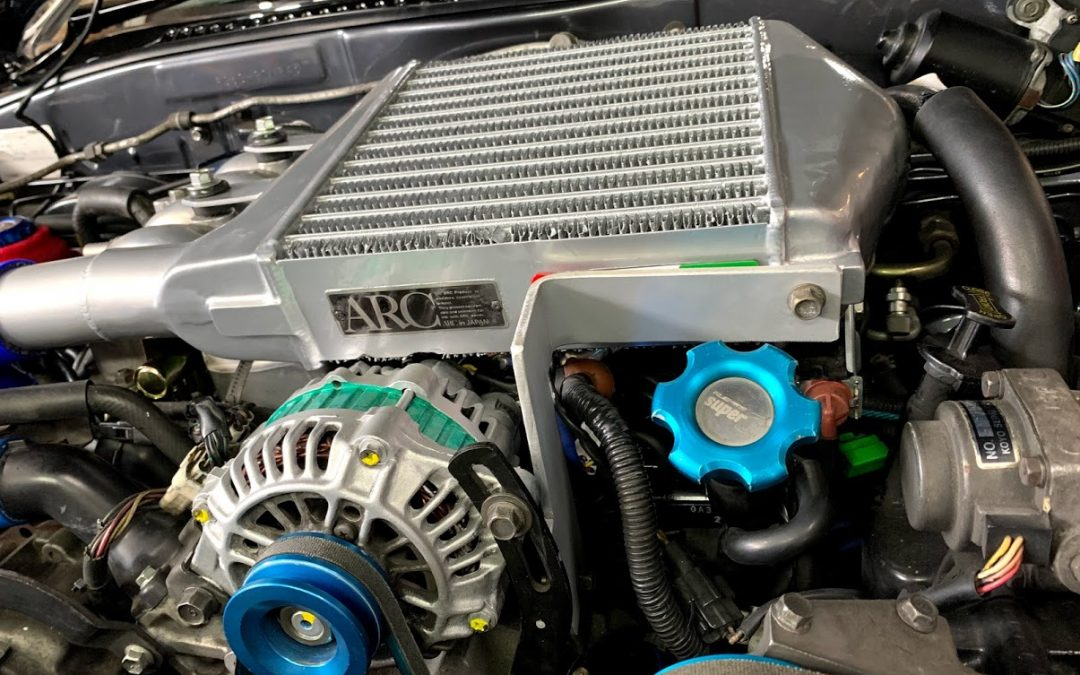 FC3SのARCインタークーラー取り付けのポイント