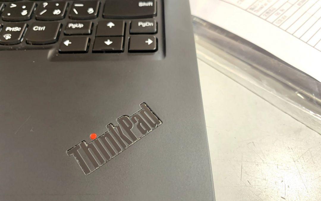 ThinkPad X1 carbonが、壊れた
