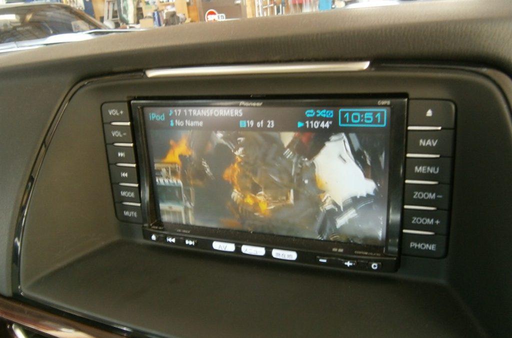 新型 アテンザ 納車後 4250km アテンザでIpod動画を見る チャプター 追加