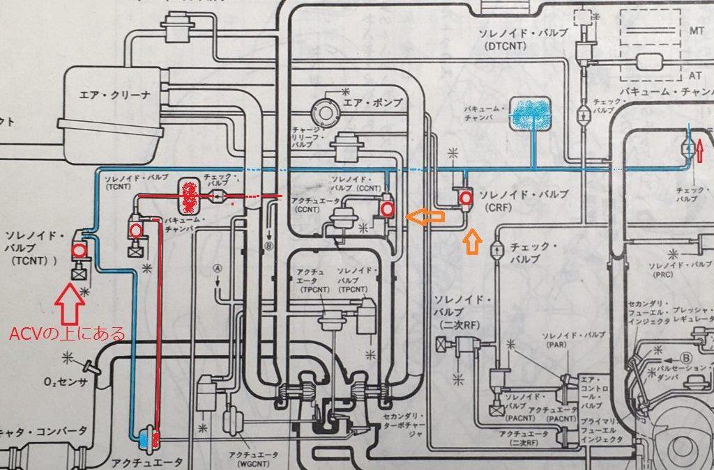 FD3S ツインターボにならない 不良個所の特定 6 正圧編!