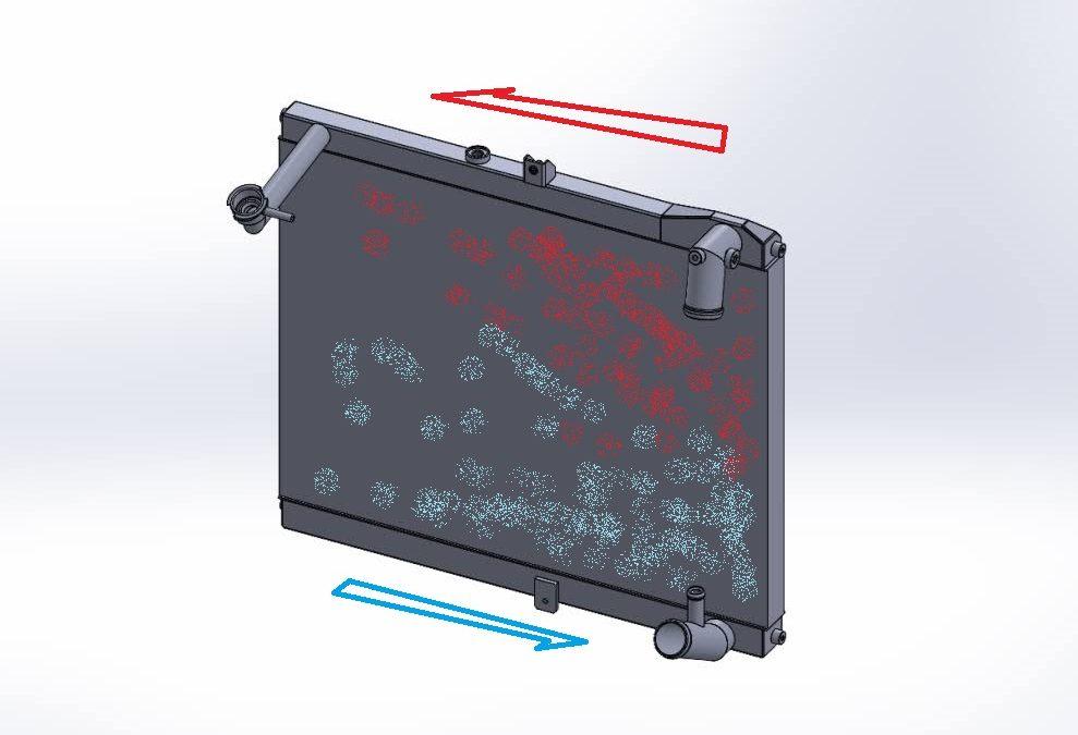 ARC FC3S RECHARGEラジエター設計