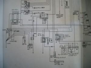 FC3S前期、始動不良 改善配線図